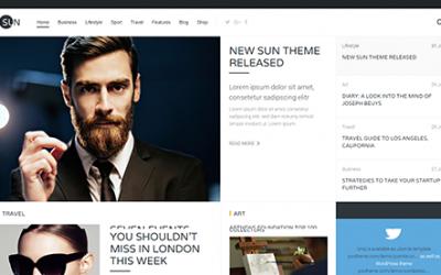 Sito per rivista, blog e magazine